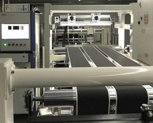 纠偏系统、测厚&面密度检测系统、视觉检测系统